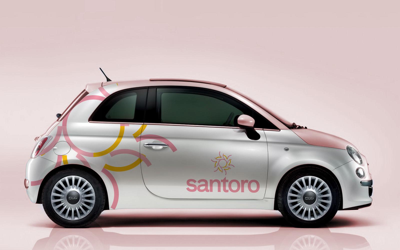 Santoro brand identity