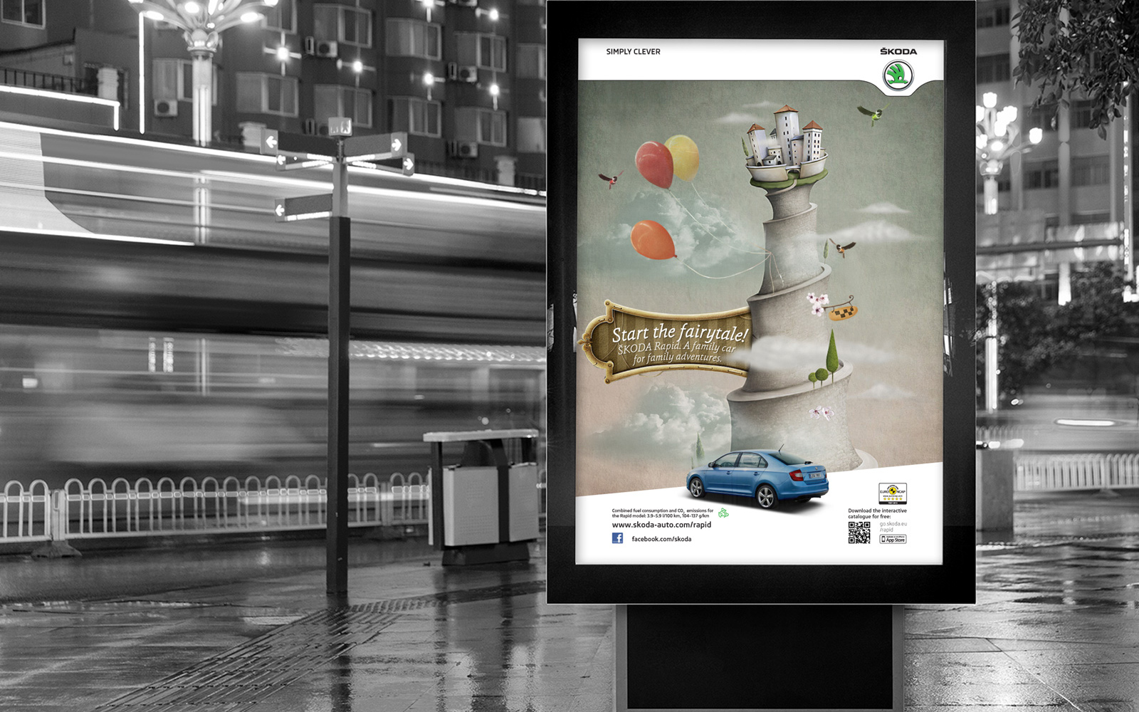Skoda Rapid (2) digital campaign