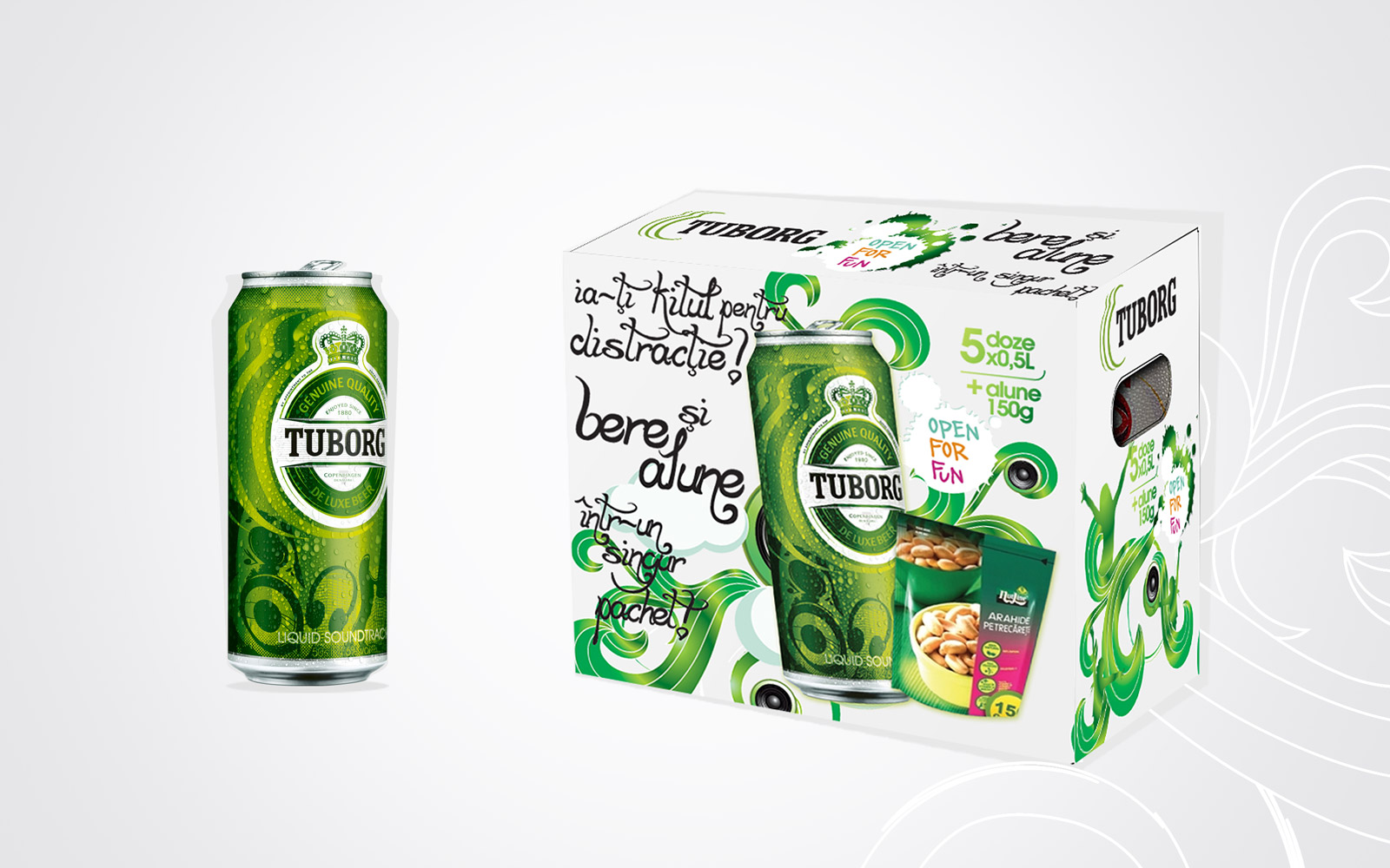 Tuborg integrated campaign