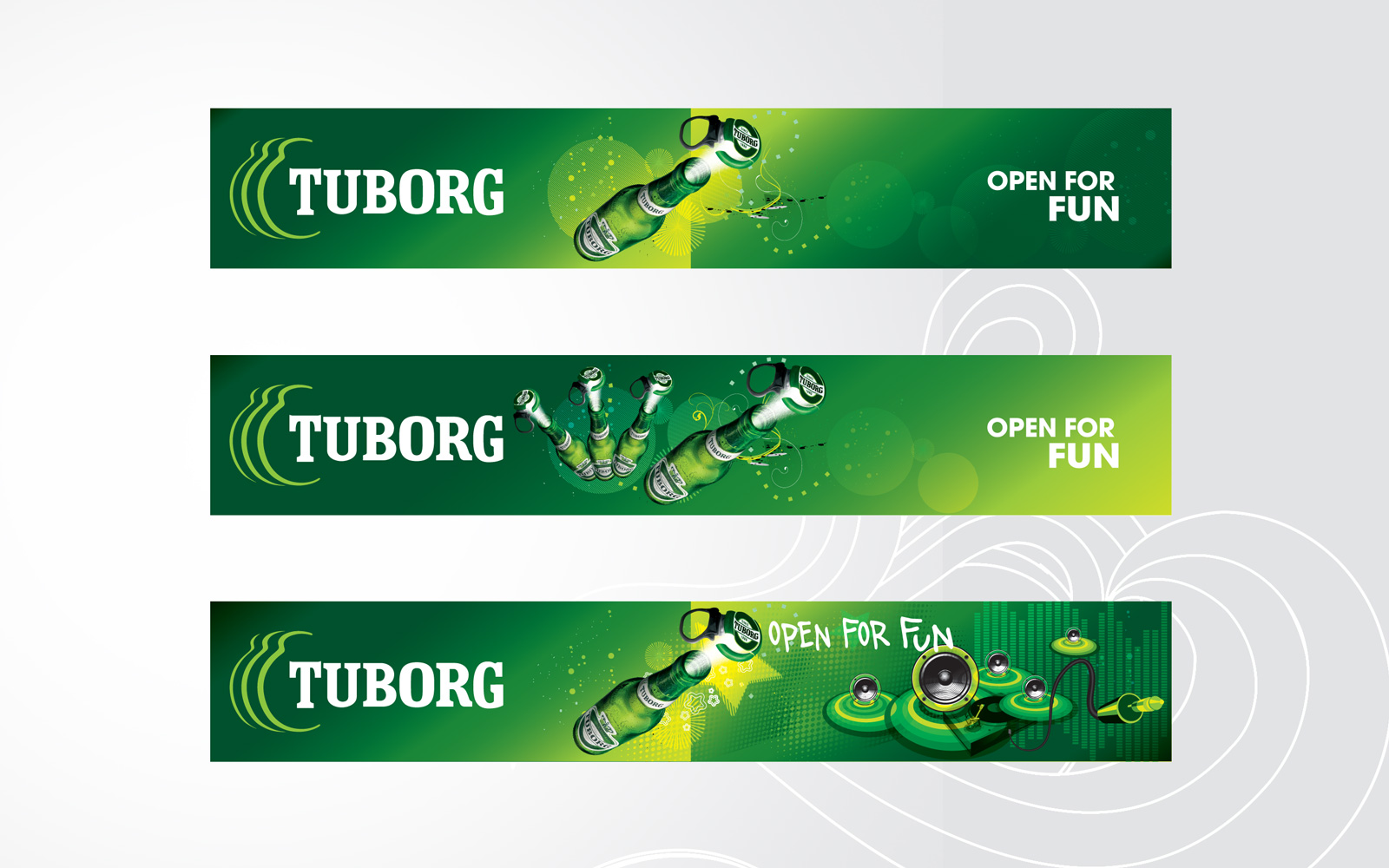 tuborg outdoor design retail promotional campaign